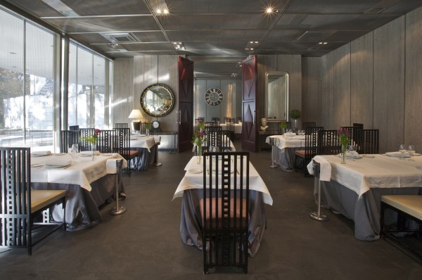 Cafe de Oriente Museo del traje restaurante 1