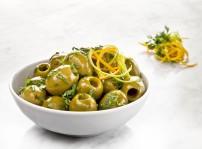 Aceitunas gordal con citricos