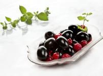 Aceitunas negras al pacharan