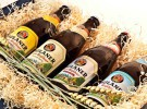 Caja retro para la cerveza Paulaner
