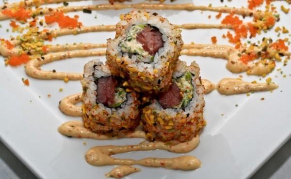 Ikura Spicy Tuna Roll