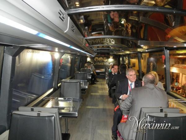 interior gourmetbus