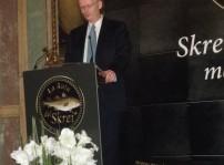 D.Johan Vibe, Embajador de Noruega en Espana