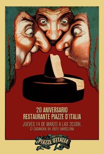 Invitación PIAZZE D'ITALIA