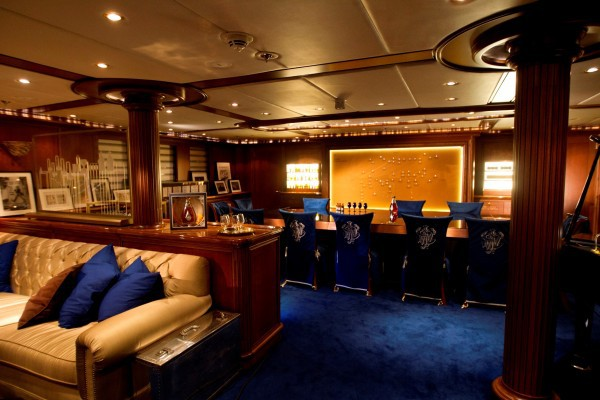 Interiors of Yacht Voyager, Honk Kong Photograph by Tim Bishop/Diageo