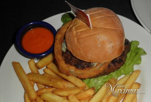 Red , White & Blue Burger