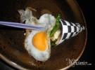 cucurucho de chanquetes con huevo