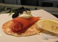 blini de salmon