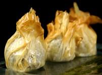 Alcachofa crujiente rellena de queso Pecorino 2, Macadamia