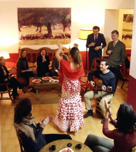 Club Privado Dehesa de Calvaches flamenco