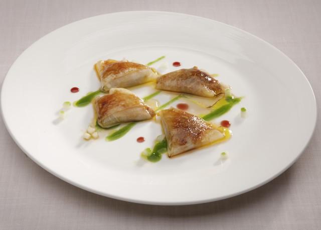 Ravioli de Foie-gras, melón y vinagreta de espinacas, Sandó by Arzak Instructions