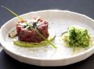 Ronqueo de un atún en el Restaurante Ponzano (Madrid)