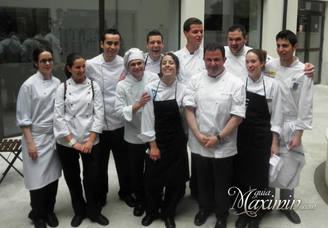 Martin Berasategui y finalistas