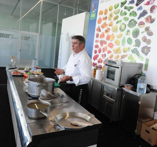 Show cooking Rafael Blasco