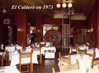 caldero en 1973