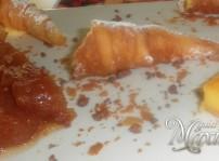 canutillos de crema, tarta de arroz y tarta tatin