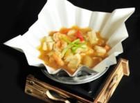 South beauty  Sukiyaki de tofu en wok de papel