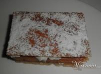 milhojas de nata