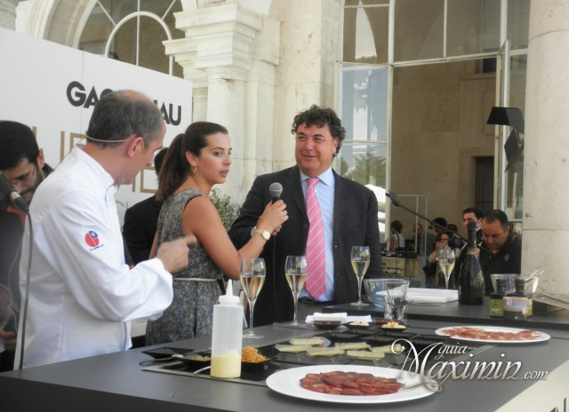 showcooking Paco Perez