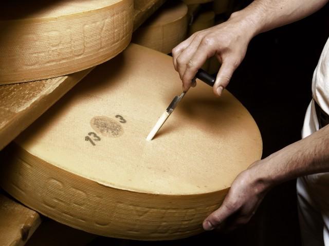 Afinador de quesos con Gruyére AOC
