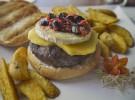 Goat kobe burger Pecado Carnal