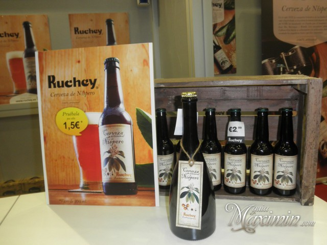 cerveza de nispero ruckey