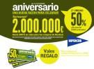 Celebra el aniversario de Hipercor ahorrando