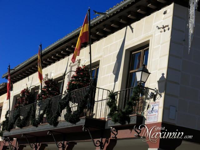 Fachada antinguo Ayuntamiento Navalcarnero
