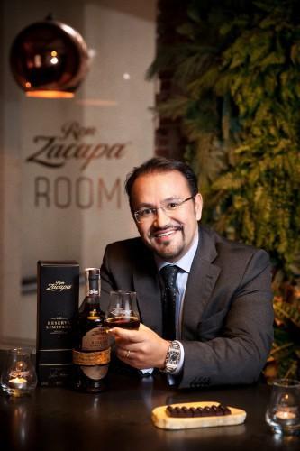 Mario Navarro Brand Ambassador Mundial de ron Zacapa