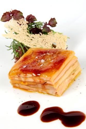 Taquito de Foie Gras y Papaya Pedro Larumbe 1