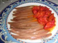 anchoas con pimiento
