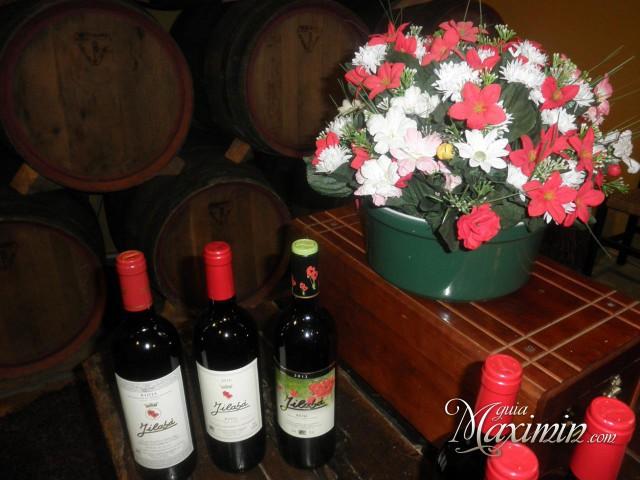los vinos y las flores