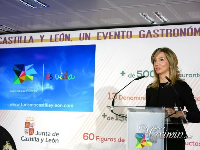 Alicia García, consejera de Turismo Castilla y Leon