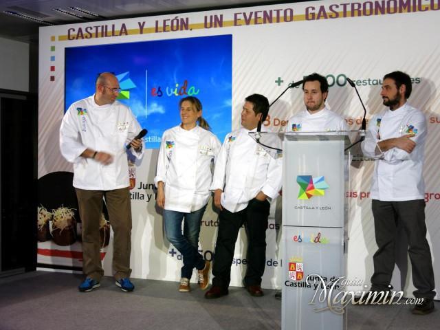 Los cinco chefs