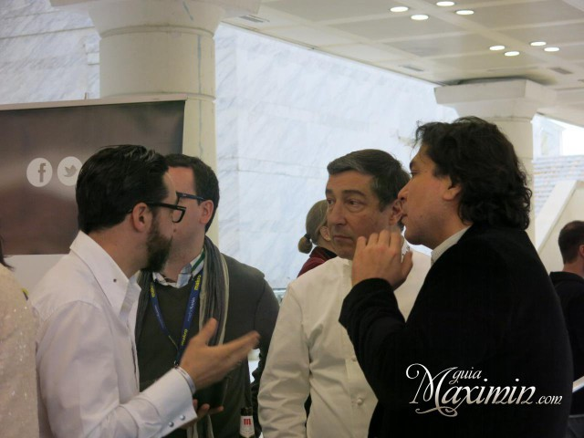 Quique Dacosta, Joan Roca y Gaston Acurio