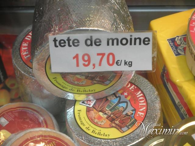 queso tete de moine