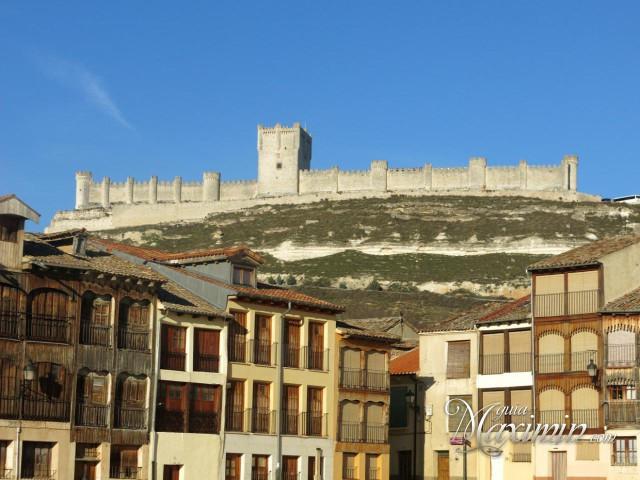 castillo de peñafiel y plaza del coso
