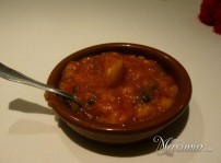 cazuelita sopa de tomate