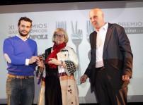 Alfonso Fierro, Pilar Pedrosa y Alberto Luchini baja