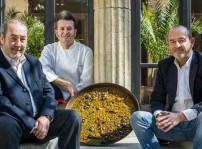 Antonio Galán, Rafa Morales y Alfonso Lara equipo de Que si quieres arroz Catalina