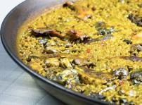 Paella valenciana Que si quieres arroz Catalina 2