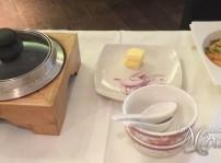 bandeja para preparar el arroz crujiente