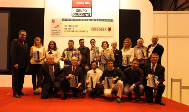 premios revista club gourmets