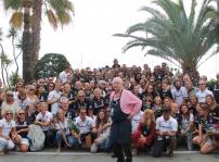 Arzak con los participantes de la II edición