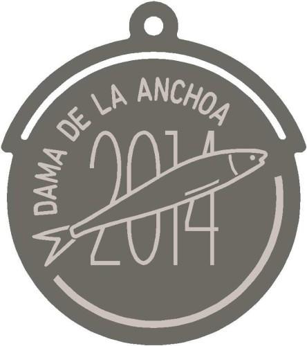 Medalla 'Dama de la anchoa 2014'