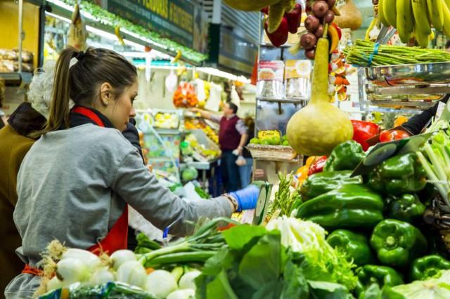 Mercado Chamberí -Frutería