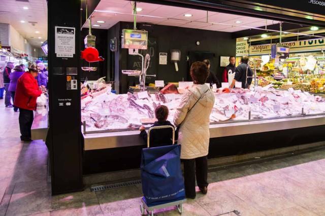 Mercado Chamberí Pescaderia