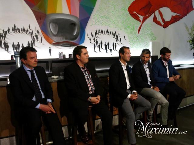 Antonio Catalán, Manuel Martínez, Salvador Victoria, Paco Roncero y Fer Francés