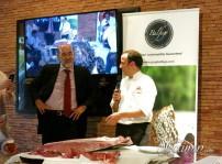 Carlos Valenti y director de Balfego