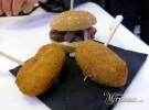 Jalapeños y hamburguesa